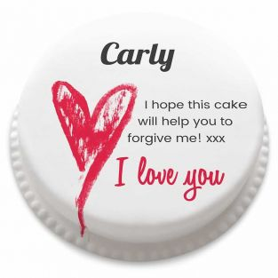 My Apologies Cake