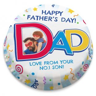 Dad Photo Cake