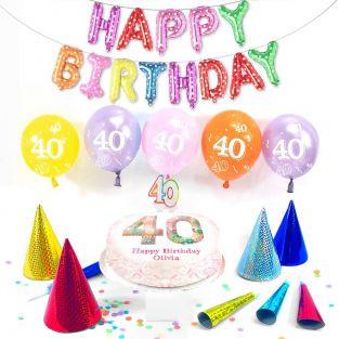 40th female birthday box