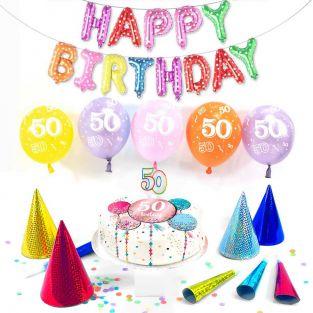 50th female birthday box