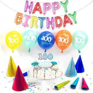 100th male birthday box