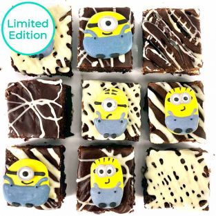 Limited Edition Minion Brownies