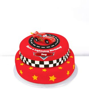 Tiered Cars cake