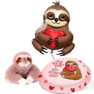 Sloth Birthday Gift Set