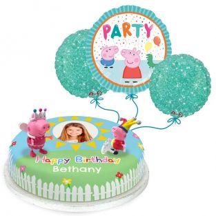 Peppa and George Pig Birthday Gift Set