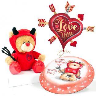 Devil Ted Gift Set