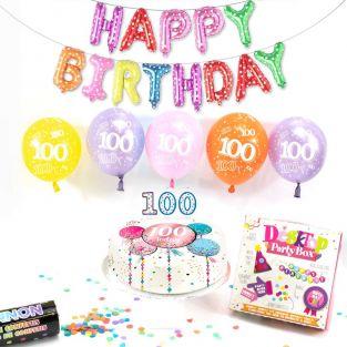 100th female birthday box