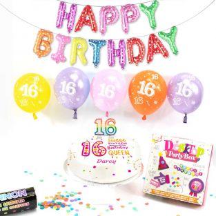 16th female birthday box