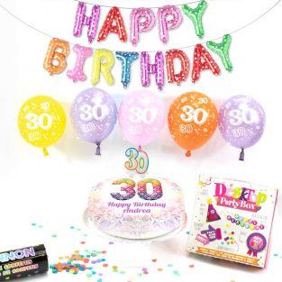 30th female birthday box