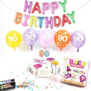 90th female birthday box