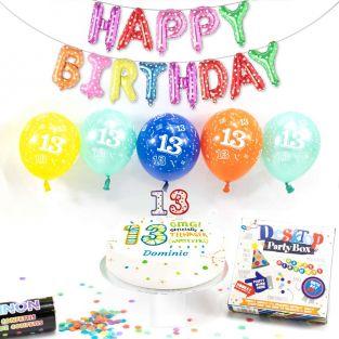 13th male birthday box