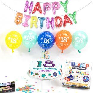 18th male birthday box