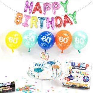 60th male birthday box