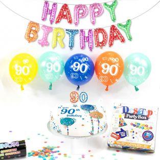90th male birthday box