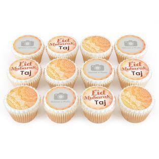 12 Eid Mubarak Cupcakes