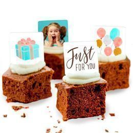 personalised brownies