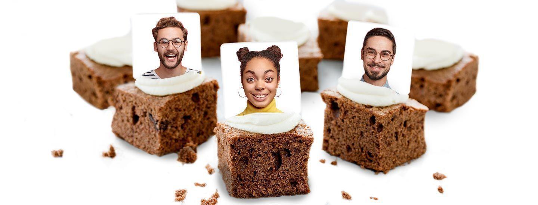 Personalised Brownies