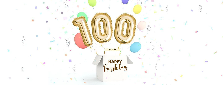 100th birthday cakes