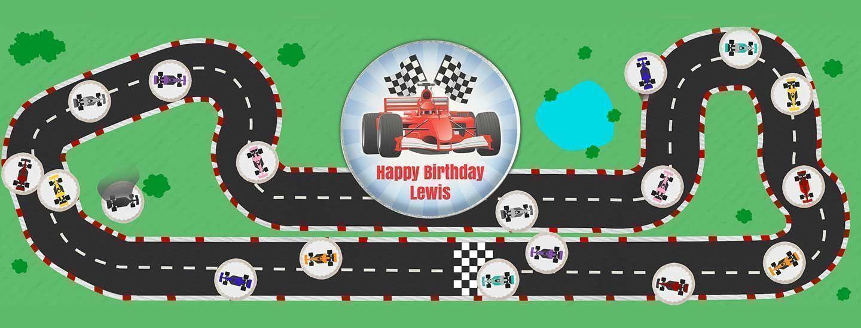 Racing Car Cakes