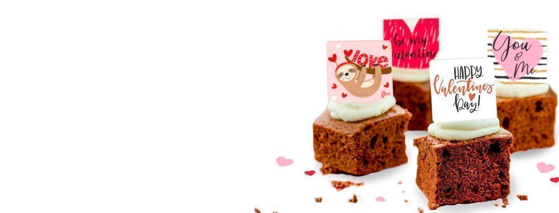 Valentine's Day Brownies