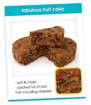 Fruit Cake Recipe Card
