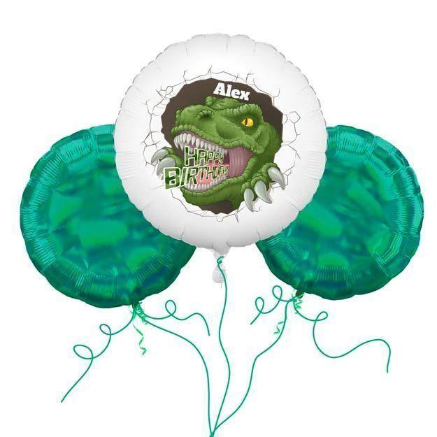 dinoaur balloons